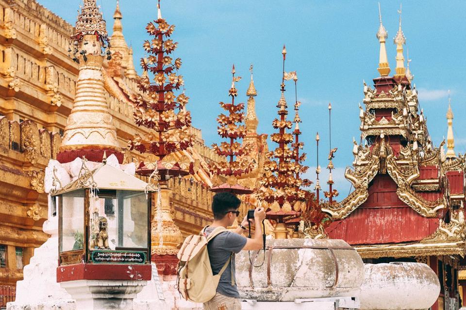 du lịch bagan - chùa shwe zi gon