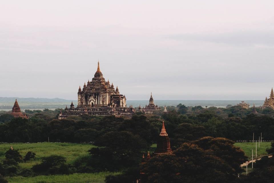 du lịch bagan - chùa ananda