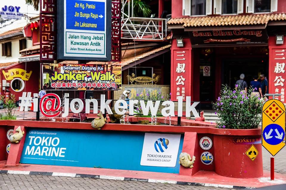 du lịch malacca - phố cổ jonker walk