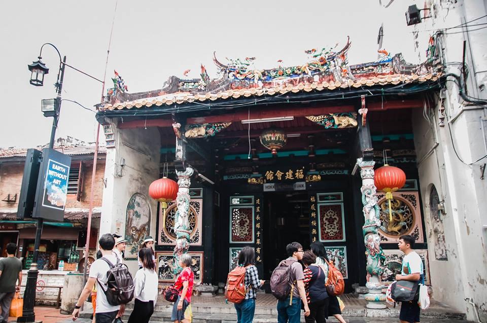 du lịch malacca - đền hokkien huay kuan