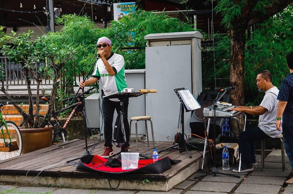du lịch malacca - nghệ sĩ đường phố