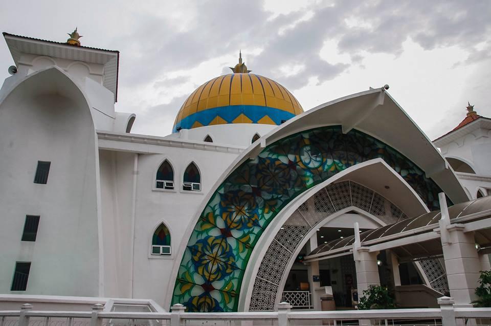 du lịch malacca - nhà thờ hồi giáo masjid selat