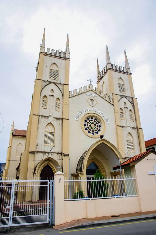 du lịch malacca - nhà thờ st francis xavier