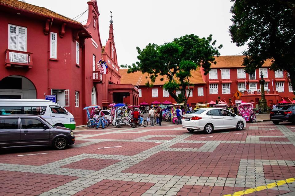 du lịch malacca - quảng trường hà lan