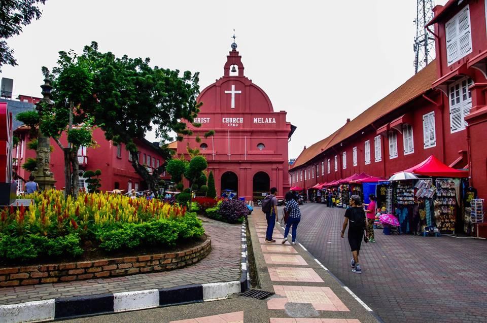 du lịch malacca - nhà thờ christ