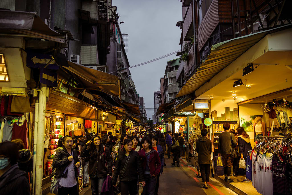 chợ đêm ở đài loan: shida