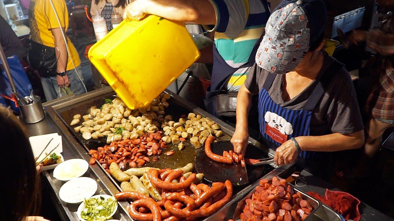 ẩm thực ở hoa đài nam, một trong những chợ đêm ở đài loan