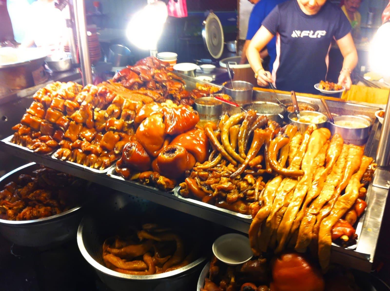 ẩm thực ở tây môn đình, một trong những chợ đêm ở đài loan