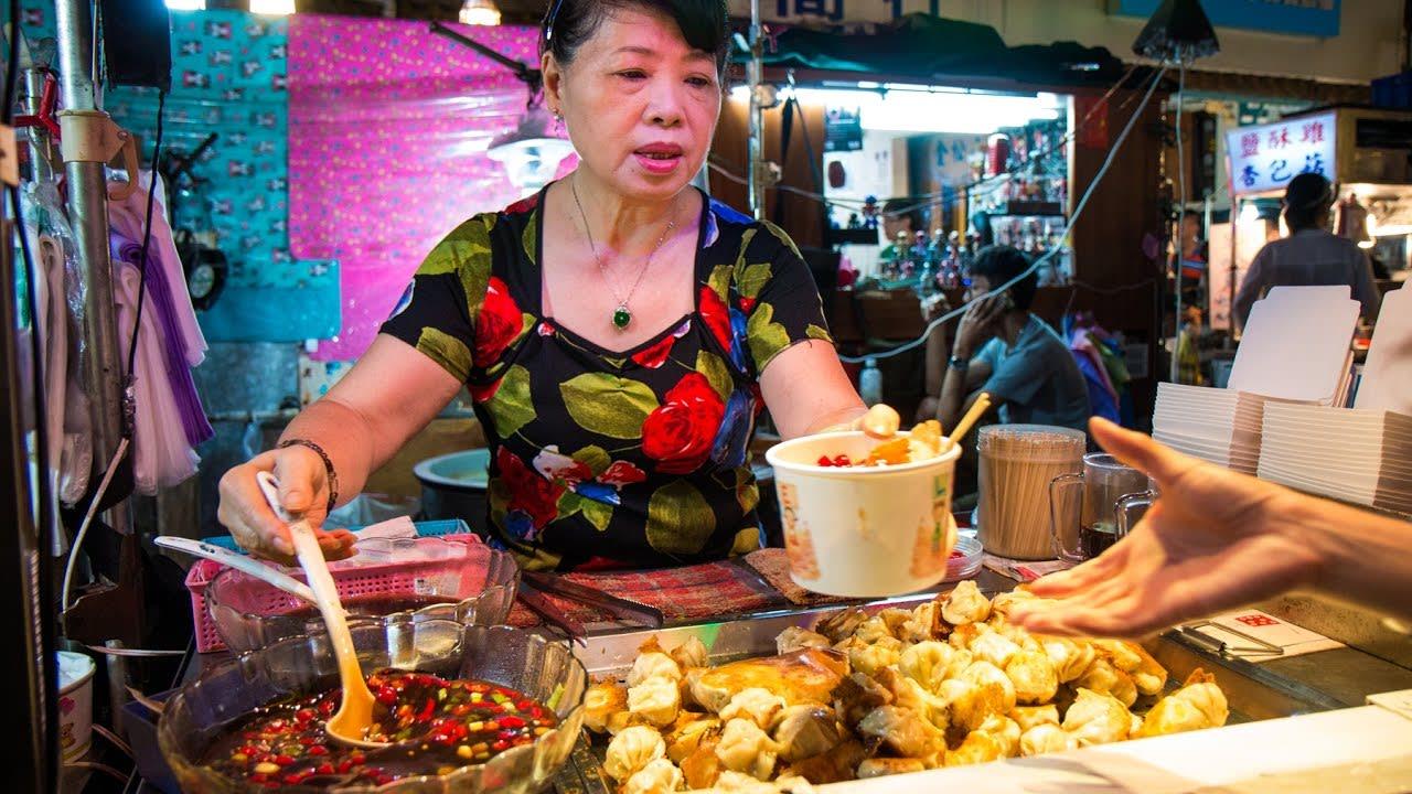 ẩm thực ở raohe, một trong những chợ đêm ở đài loan