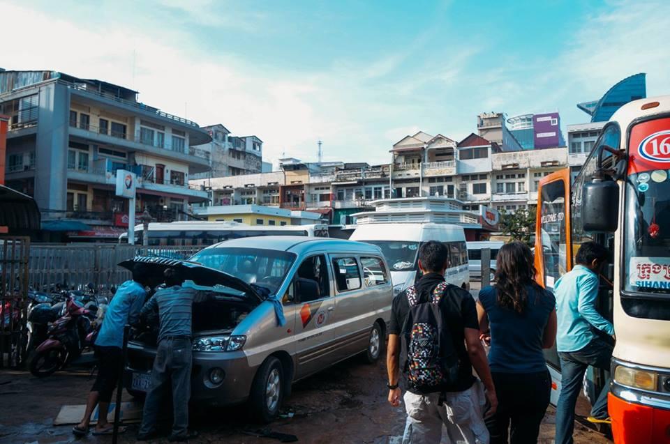 nghỉ ở bến xe phnompenh là một kinh nghiệm đi koh rong samloem