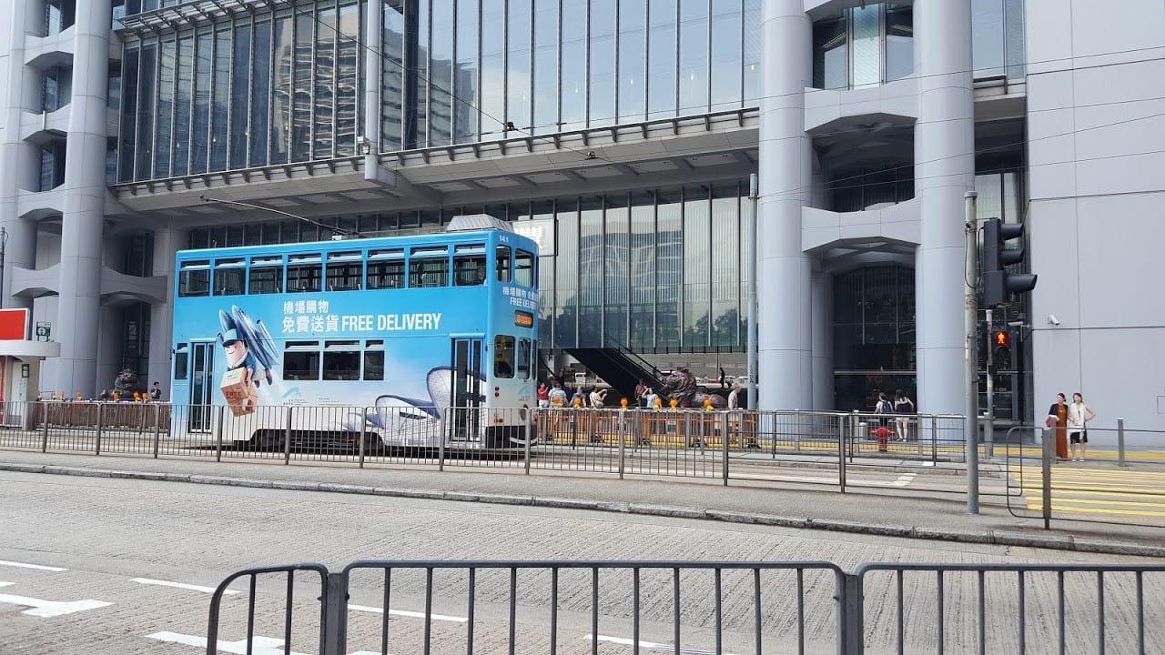 lịch trình du lịch hong kong: xe điện