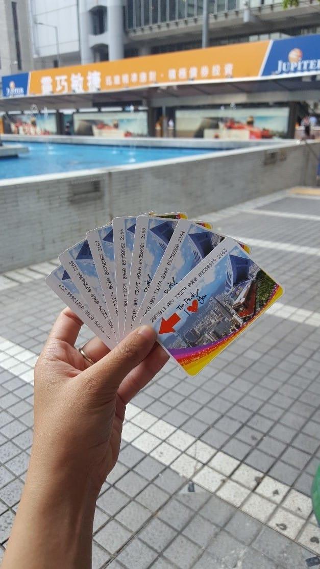 lịch trình du lịch hong kong: vé the peak tram