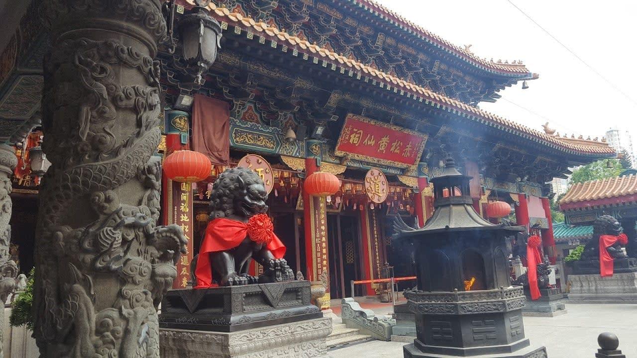lịch trình du lịch hong kong: wong tai sin