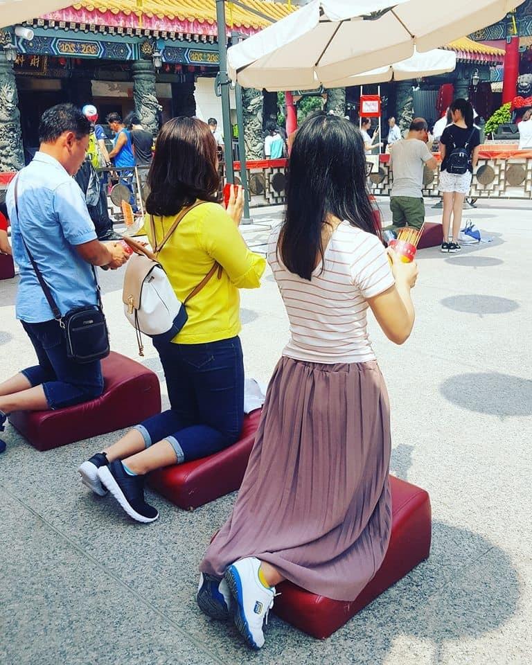 lịch trình du lịch hong kong: xin xăm tại wong tai sin