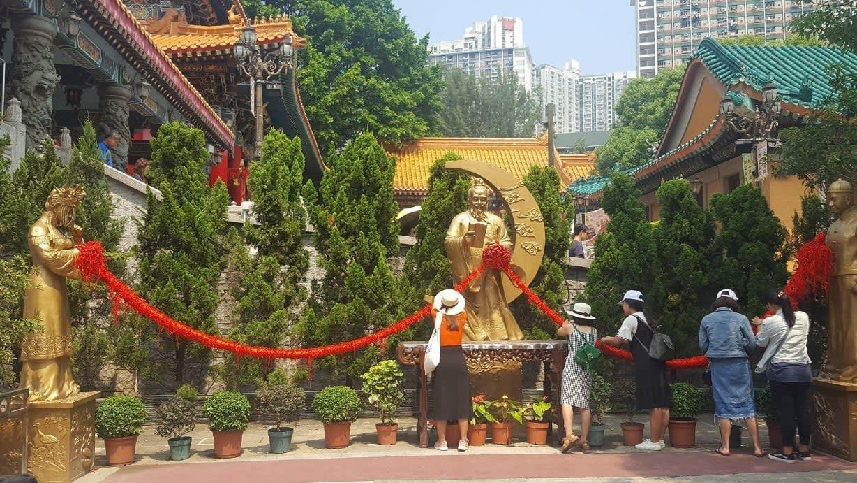 lịch trình du lịch hong kong: ông tơ bà nguyệt