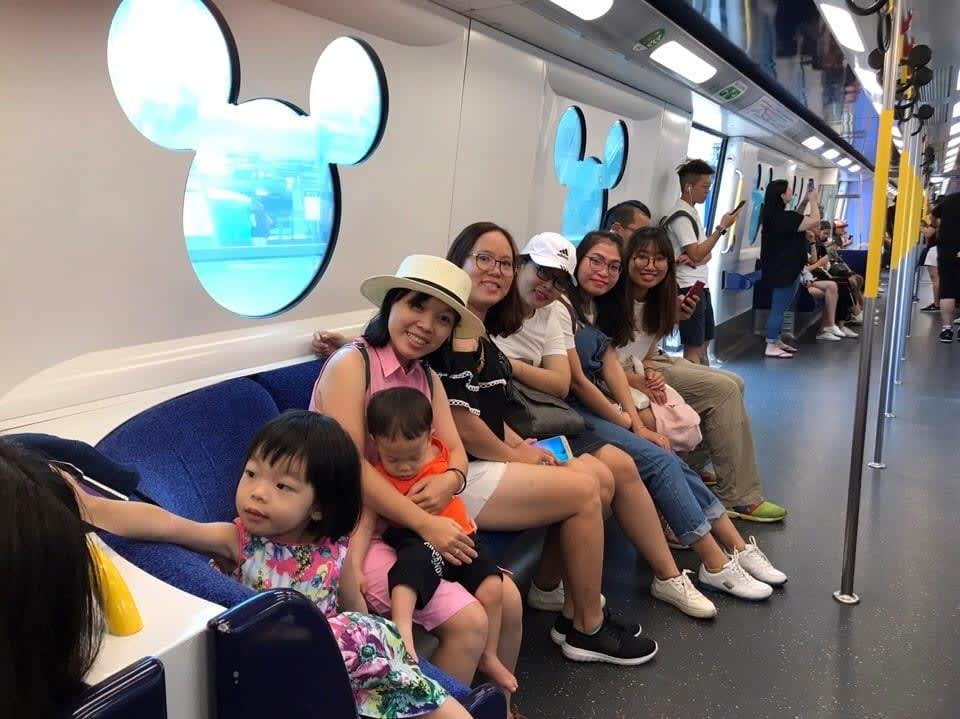 lịch trình du lịch hong kong: disneyland