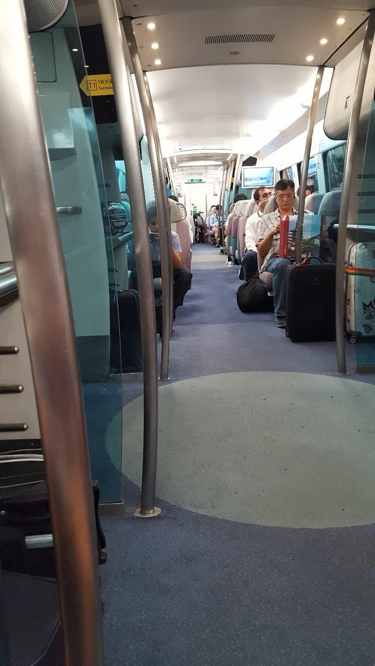 lịch trình du lịch hong kong: MRT sân bay