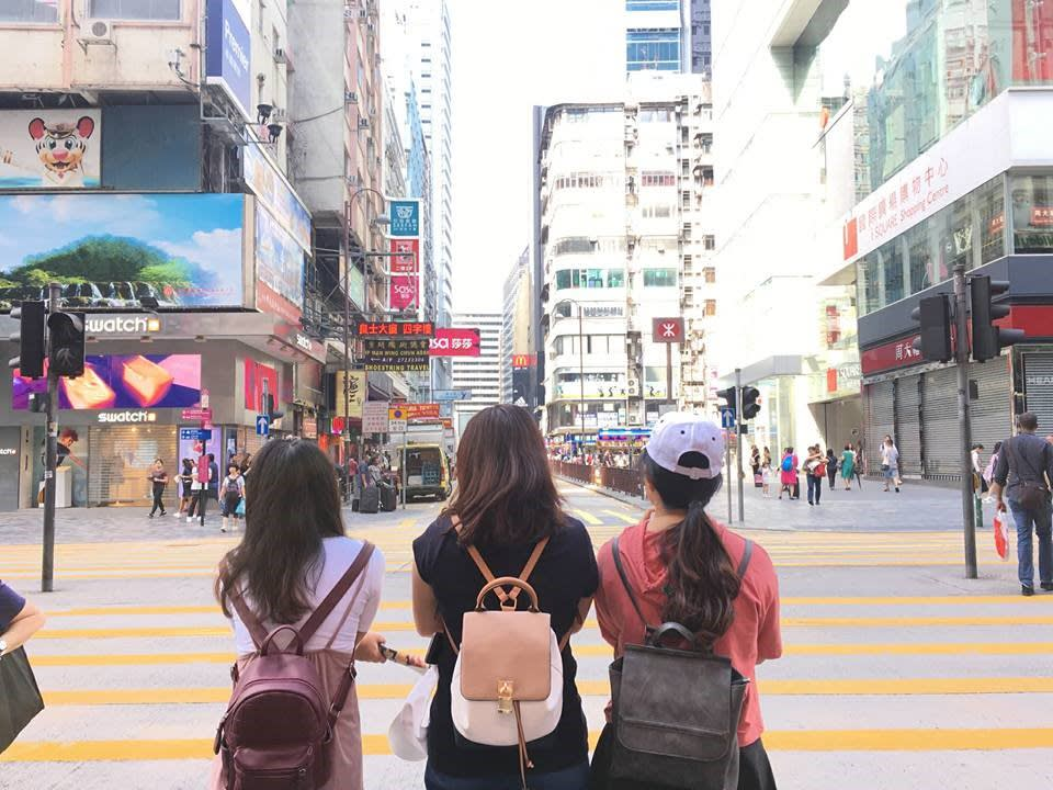 lịch trình du lịch hong kong: đường phố hong kong