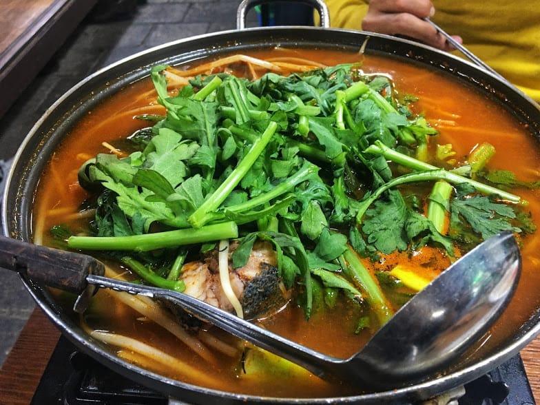 lẩu là một món phải thử trong ẩm thực seoul