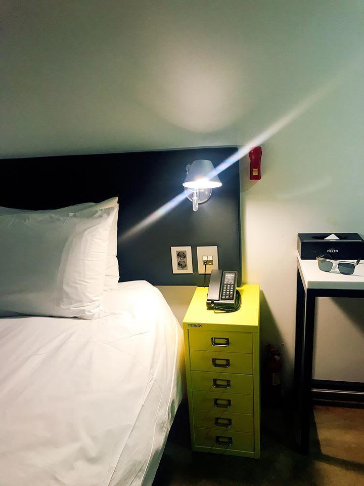 phòng khách sạn creto, nơi ở trong lịch trình mua sớm ở seoul