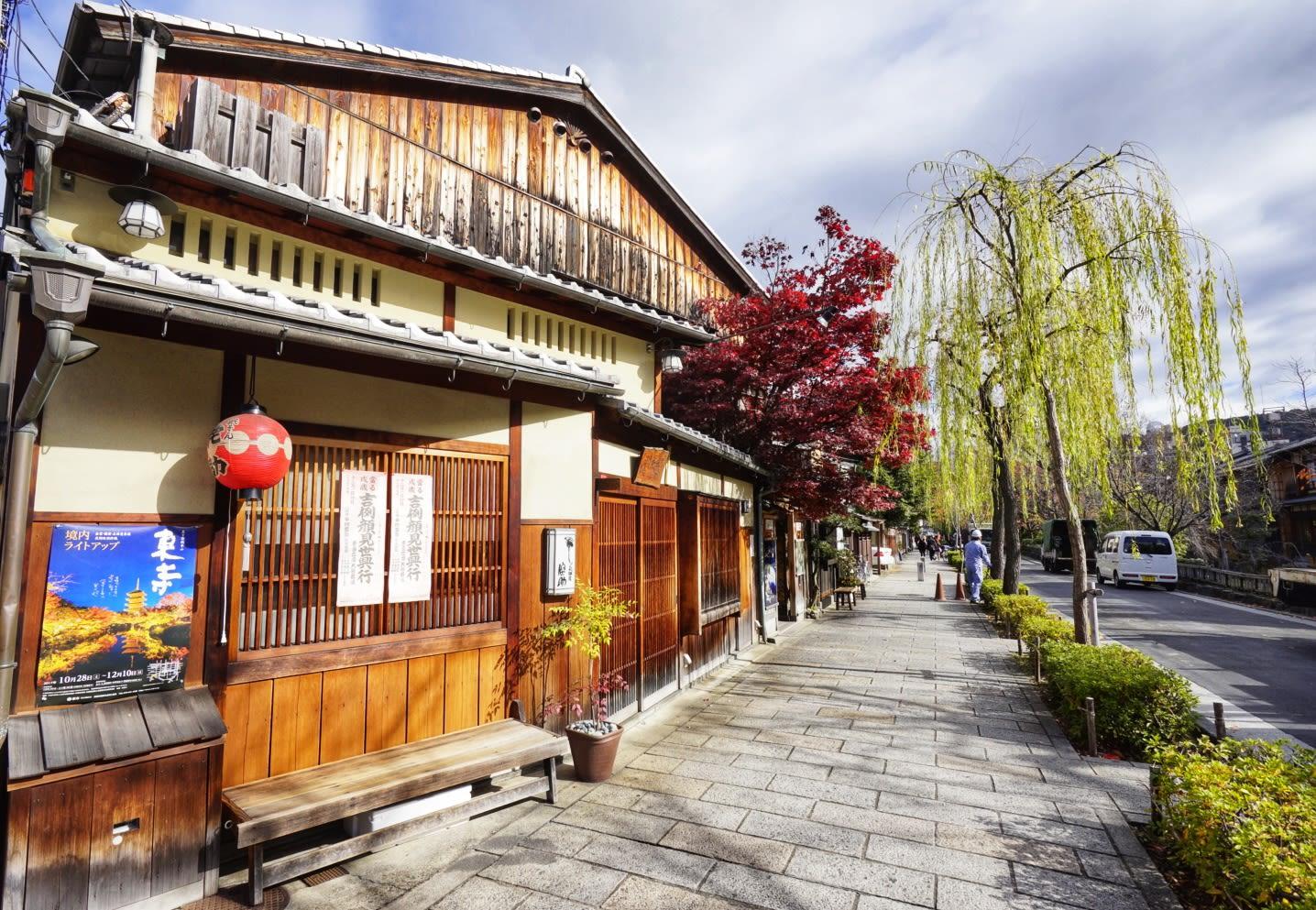 ghé arashimaya trong lịch trình ngắm mùa thu ở kyoto
