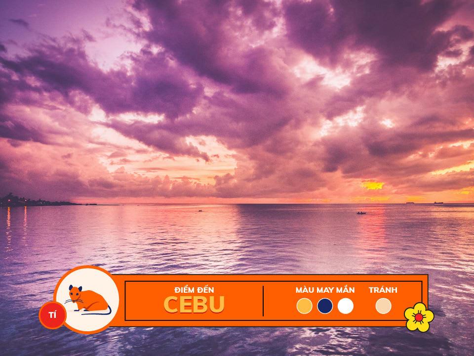 Năm 2018 12 con giáp nên du lịch ở đâu: tuổi tí - cebu