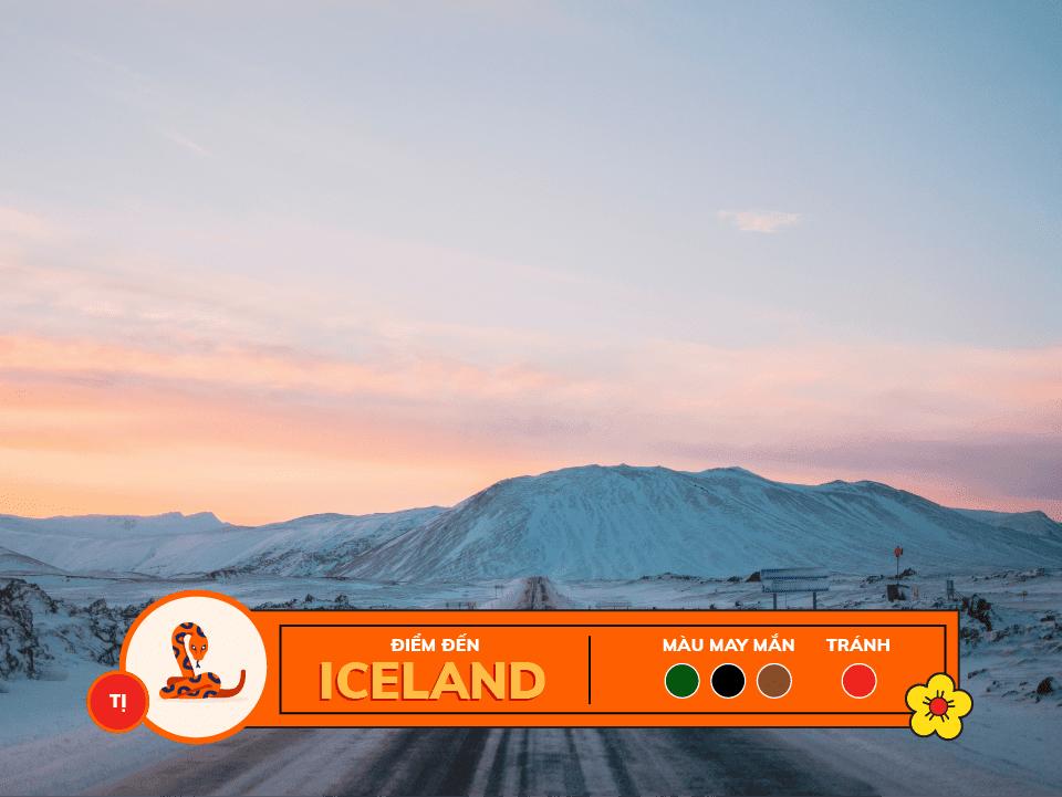 Năm 2018 12 con giáp nên du lịch ở đâu: tuổi tị - iceland