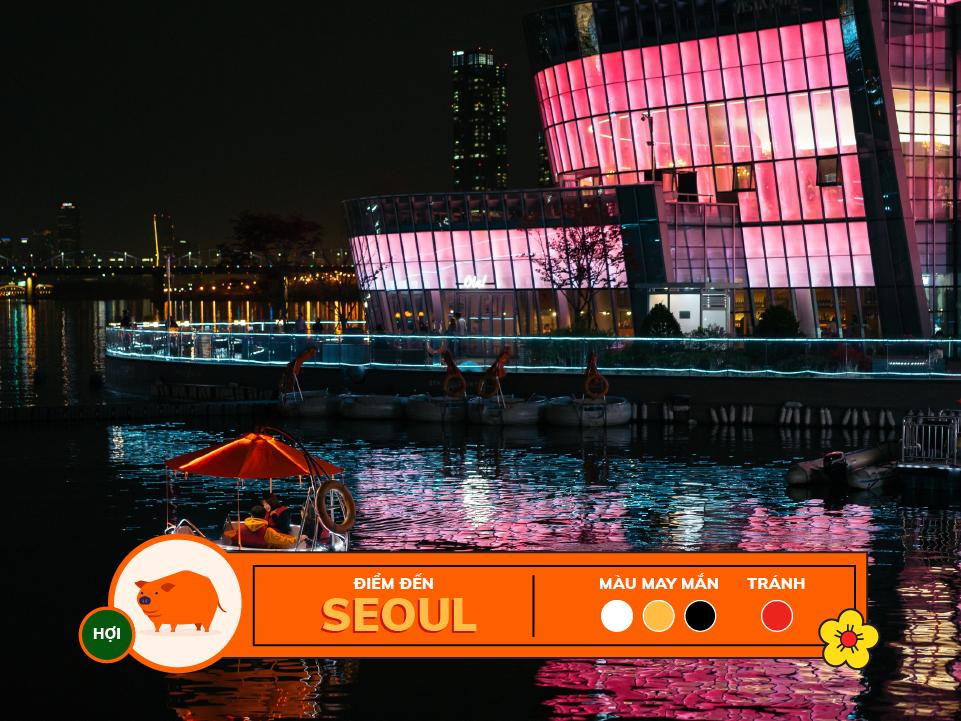 Năm 2018 12 con giáp nên du lịch ở đâu: tuổi hợi - seoul
