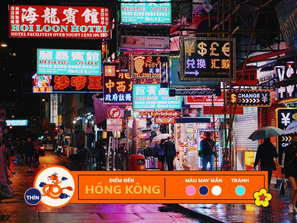 Năm 2018 12 con giáp nên du lịch ở đâu: tuổi thìn - hong kong