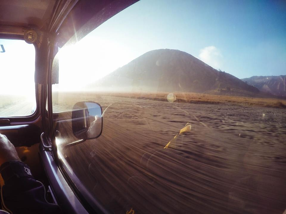 chuyến xe đến núi lửa bromo