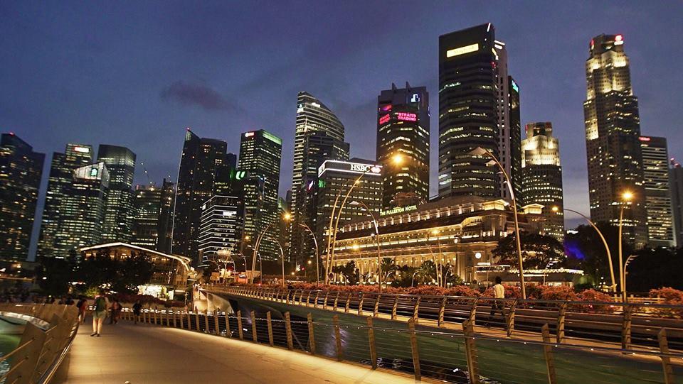 trải nghiệm singapore 4 ngày 3 đêm: đướng phố ban đêm