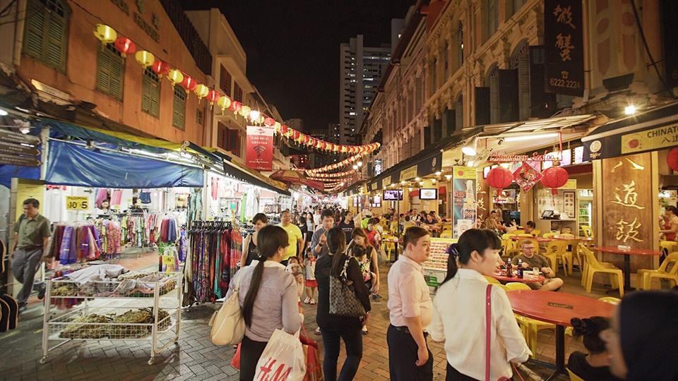 trải nghiệm singapore 4 ngày 3 đêm: china town