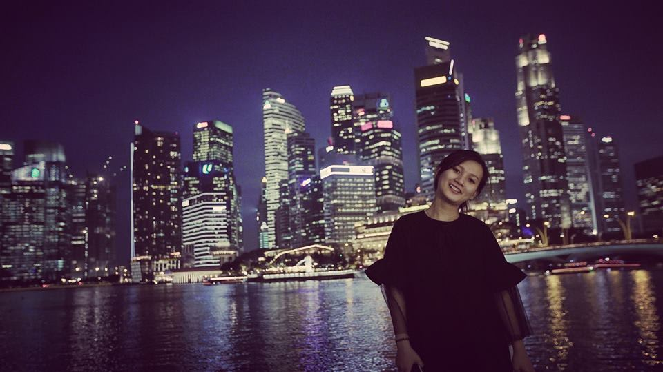 trải nghiệm singapore 4 ngày 3 đêm: cao ốc tài chính singapore về đêm
