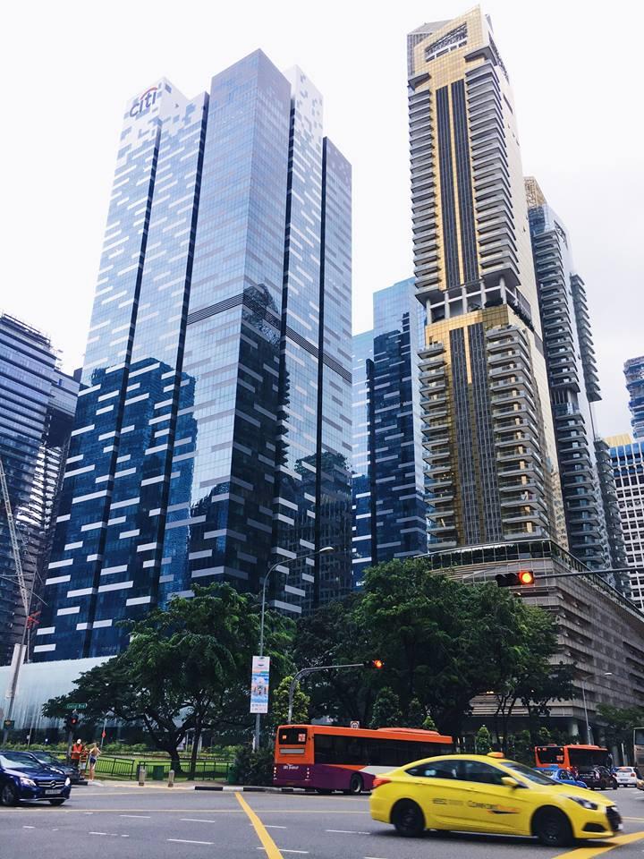 trải nghiệm singapore 4 ngày 3 đêm: nhà cao ốc