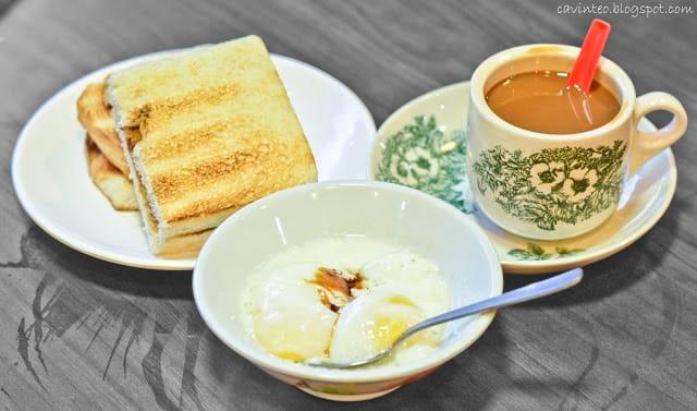 bánh mì nướng kaya là món ăn vặt singapore rất đáng thử
