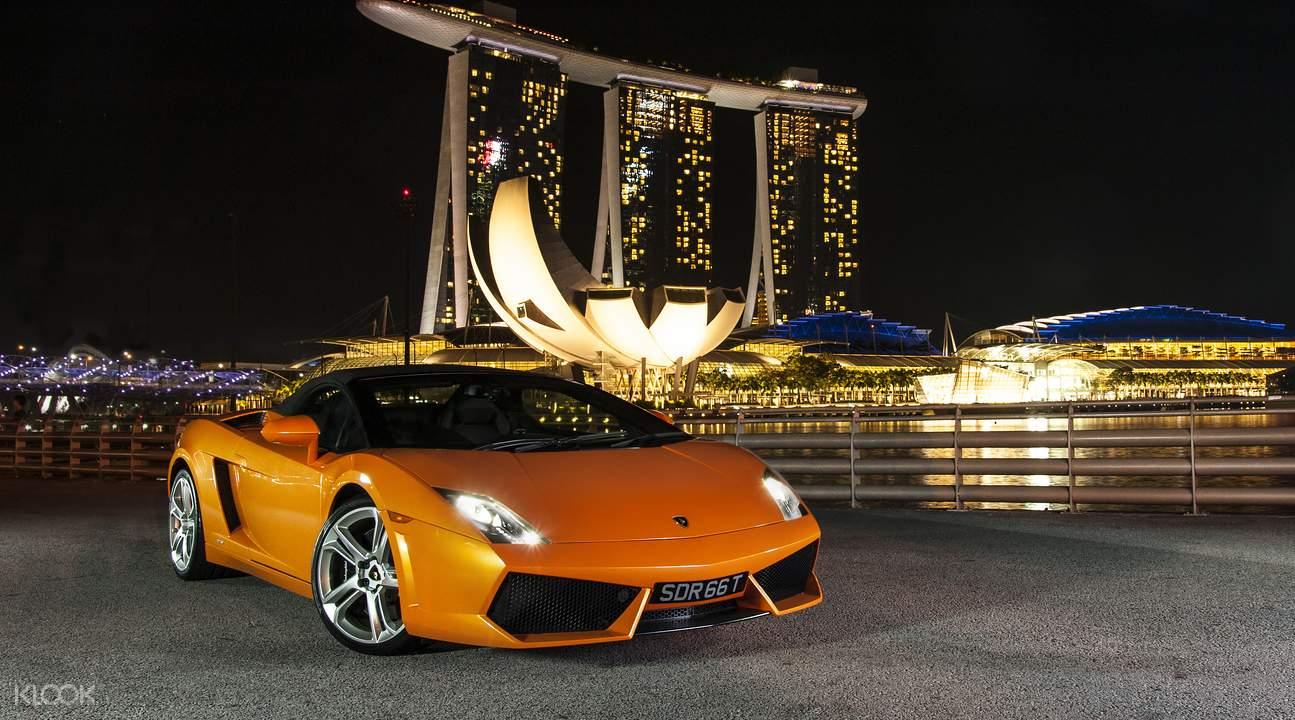 lái xe supercar là một hoạt động ngoài trời tại singapore