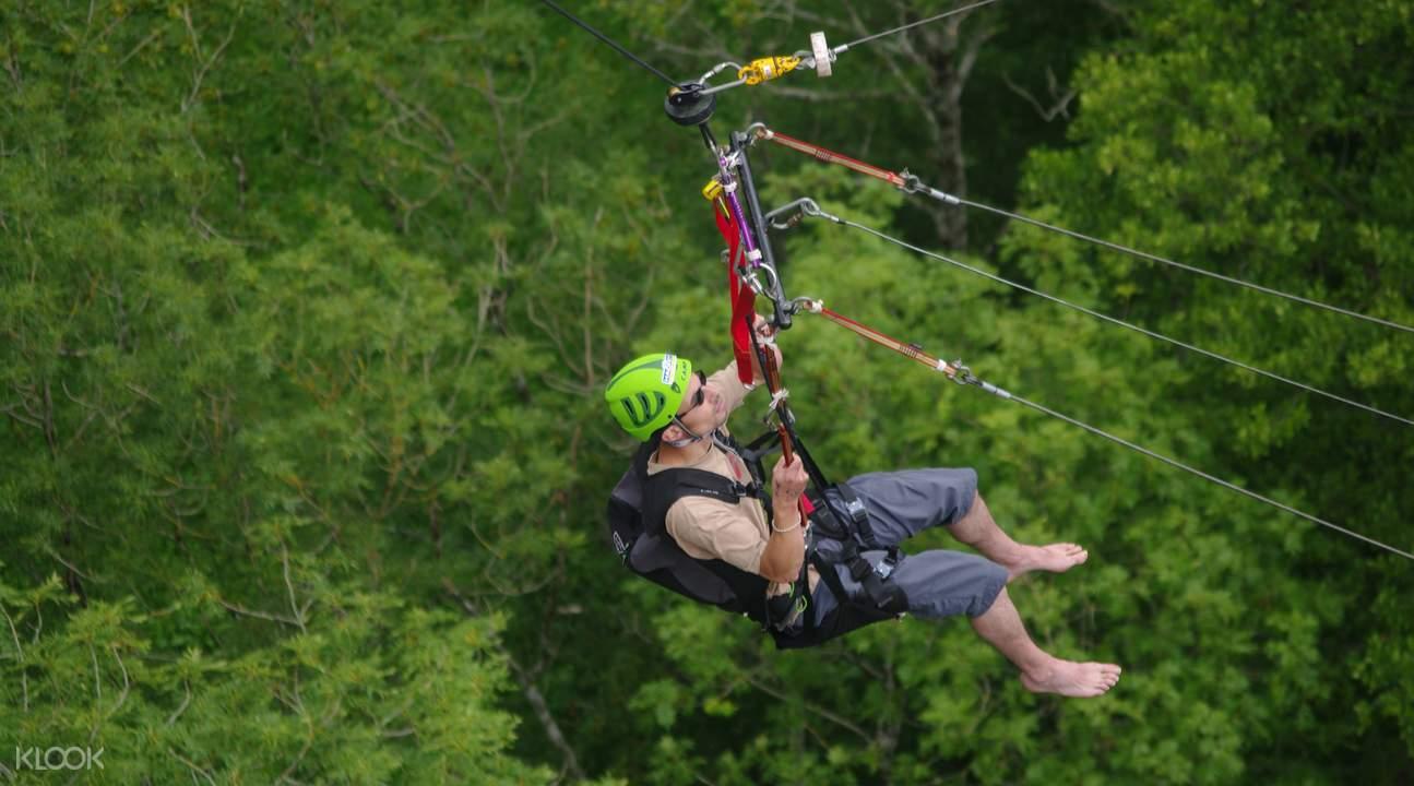 giant swing là một hoạt động ngoài trời tại singapore có cảm giác mạnh