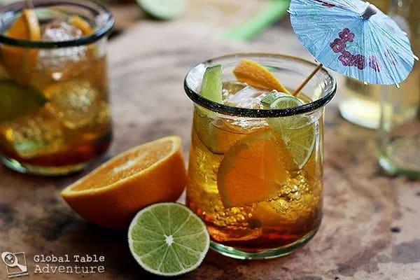 Chapman là một loại cocktail nổi tiếng của Nigeria