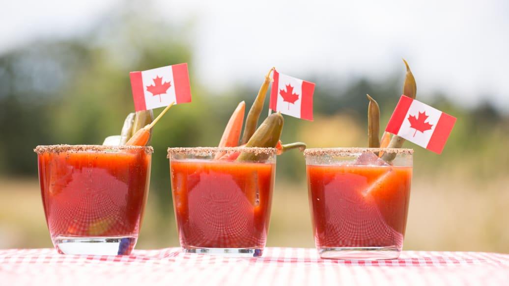 Caesar là một loại cocktail nổi tiếng của Canada