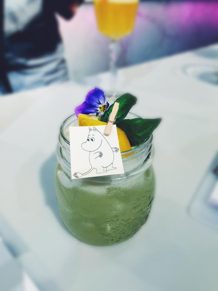 cocktail vị chua moomin là một loại cocktail nổi tiếng của phần lan