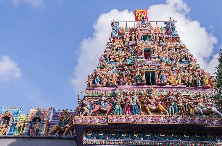 little india là một trong 5 khu văn hóa mới ở singapore