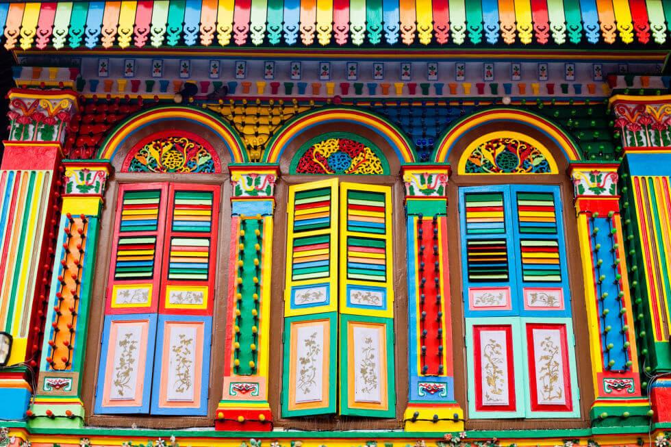 little india là một khu văn hóa mới ở singapore với rất nhiều màu sắc