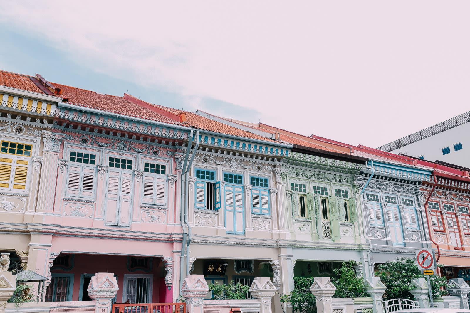 joo chiat là một trong 5 khu văn hóa mới ở singapore