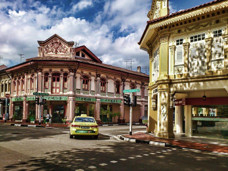 joo chiat là một khu văn hóa mới ở singapore mà các bạn trẻ hay tới