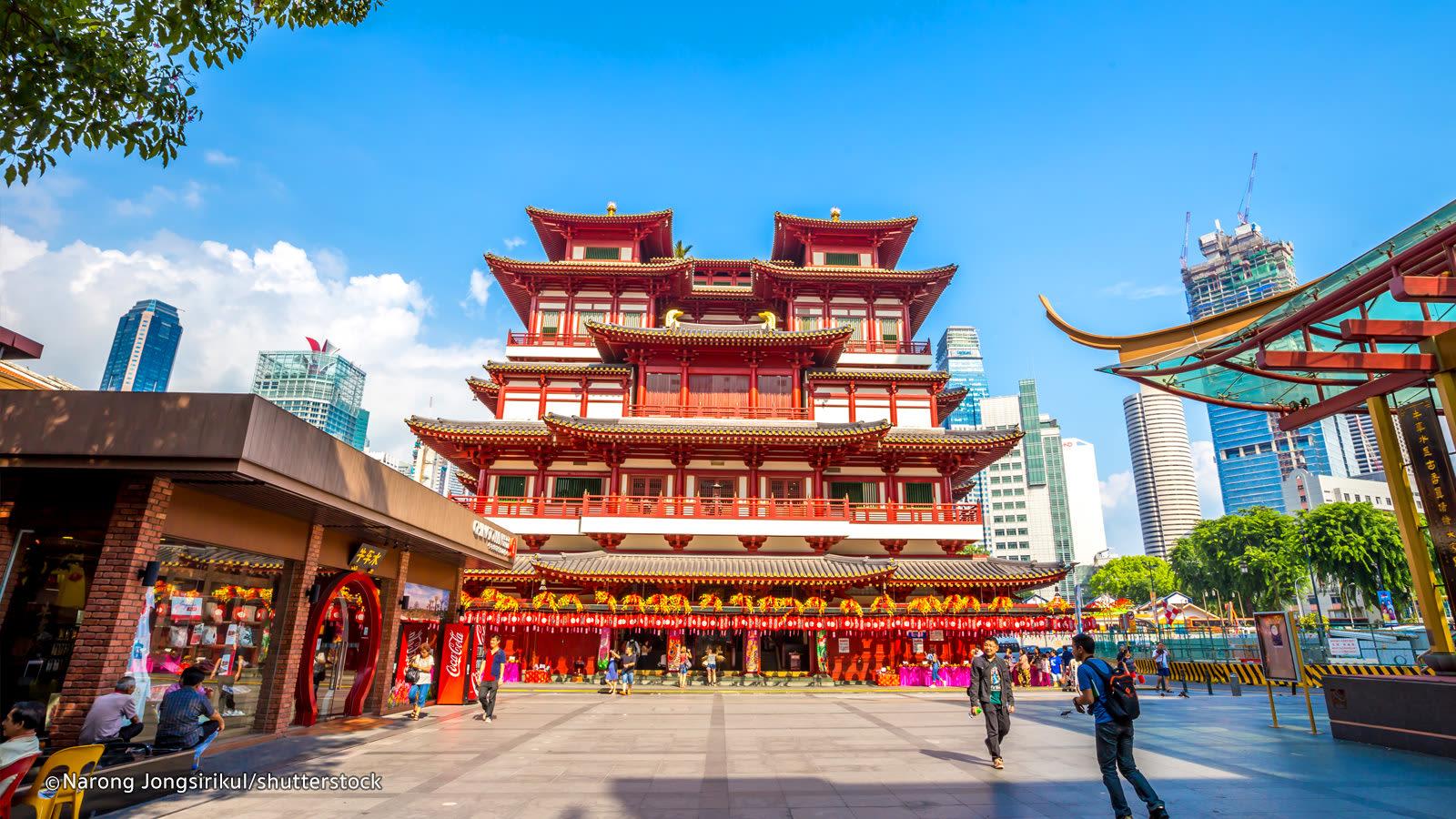 china town là một trong những khu văn hóa mới ở singapore