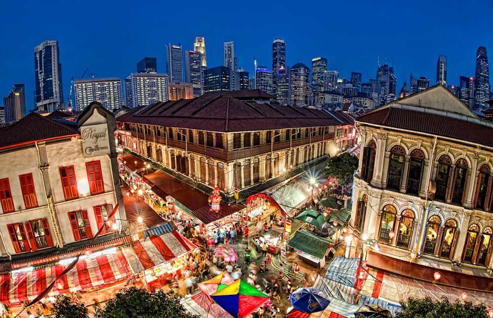 china town là một trong 5 khu văn hóa mới ở singapore