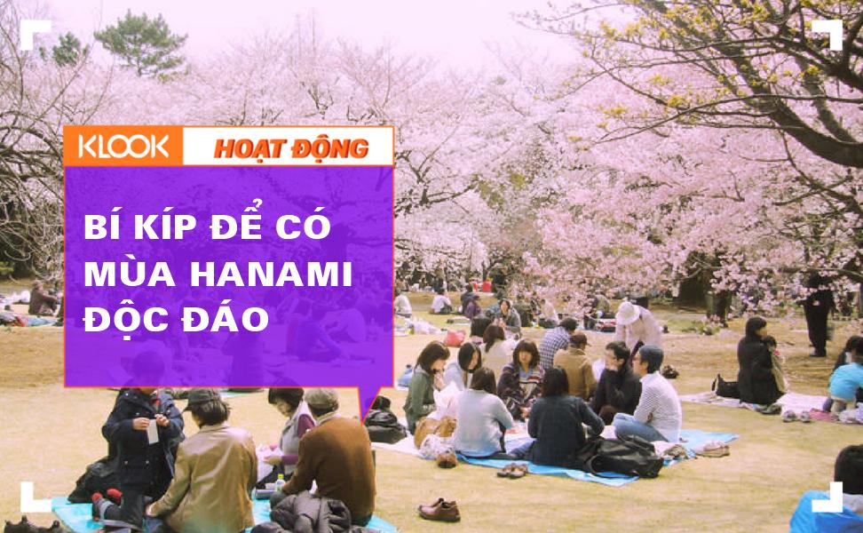 Bí kíp để có mùa Hanami (ngắm hoa anh đào) độc đáo 1