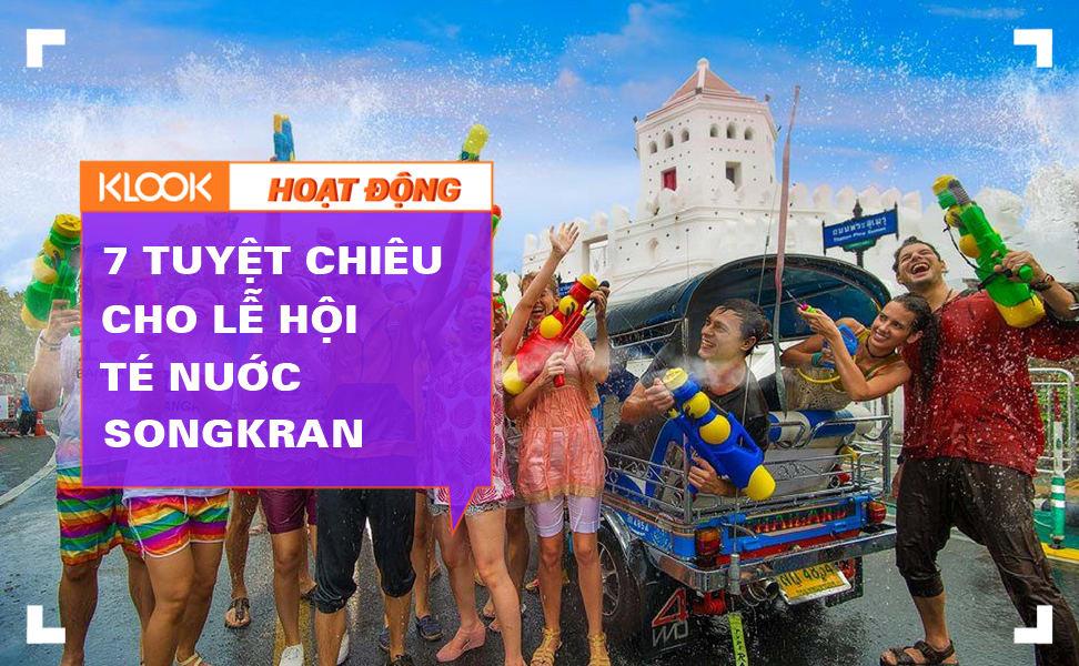 7 tuyệt chiêu chiến đấu lễ hội té nước Songkran 1