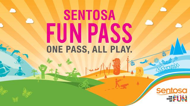 Sentosa Fun Pass: chơi sạch 19 trò chơi ở Sentosa chỉ với 1 chiếc vé 1