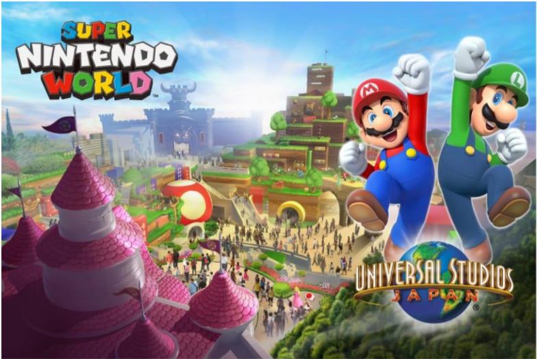 thế giới super mario ở universal studios japan